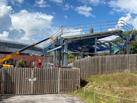 Marwell Zoo: Groundworks and construction of new building