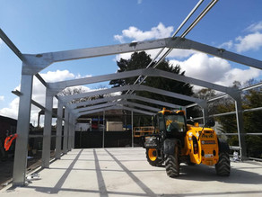 New horse stables - frame only project, Guildford