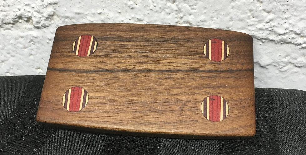 Boucles de ceinture en bois & skateboard
