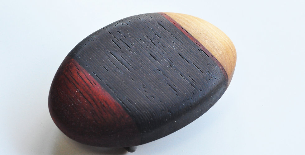 Boucles de ceinture en bois