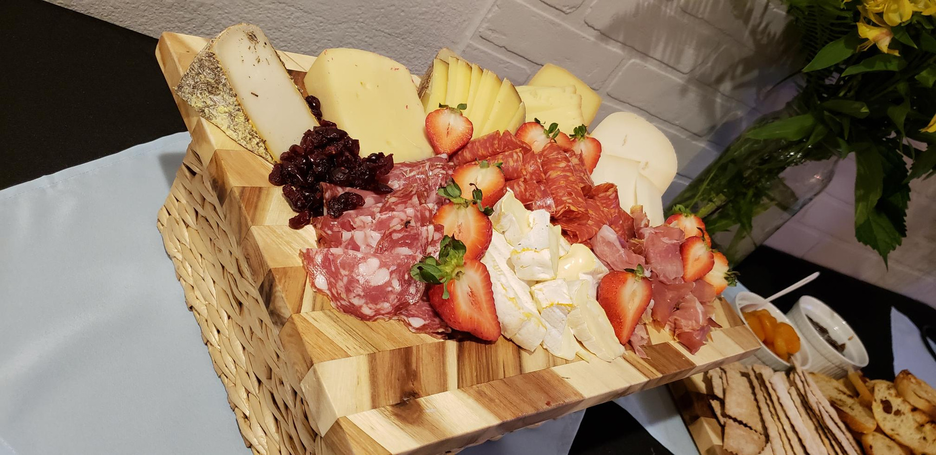 Fabulous Cheese and Fruit Board