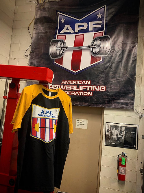 APF Throwback Tee