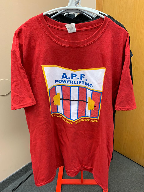 APF Michigan State Meet 2020 Tee