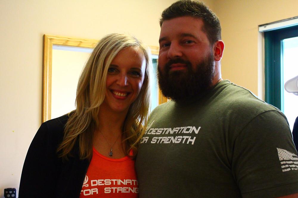 Amanda Betron and Steve Stuecher
