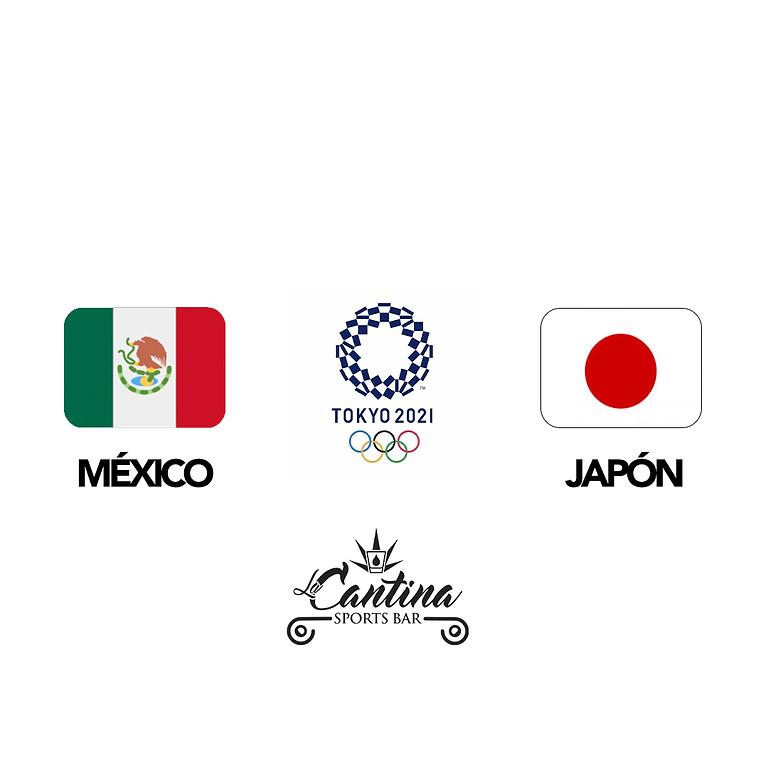MEXICO vs JAPON TOKIO 2021