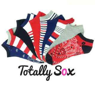 Bandana Print Socks