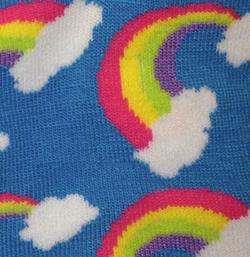 Rainbow Feet!