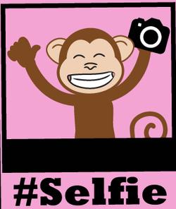 #selfiemonkey