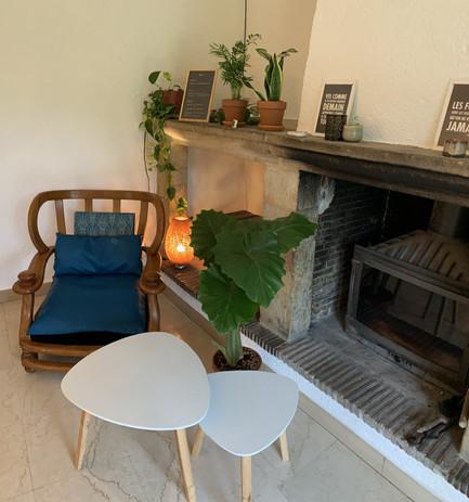 Petit salon intérieur