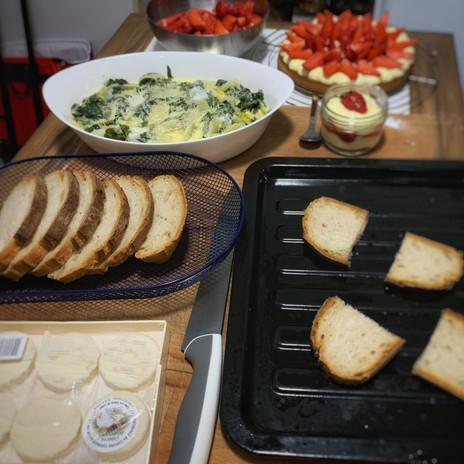 Préparation du repas du soir