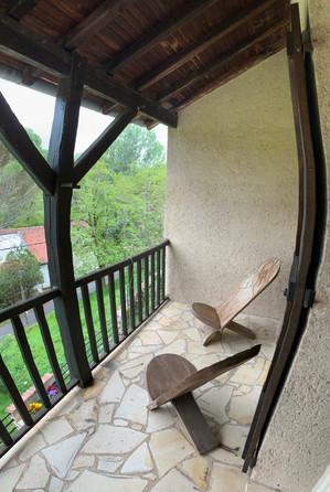 Repos sur le balcon