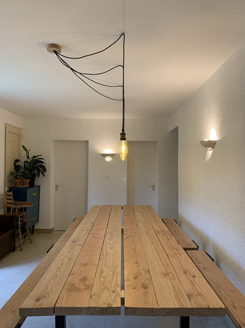 Table de 15 places intérieures