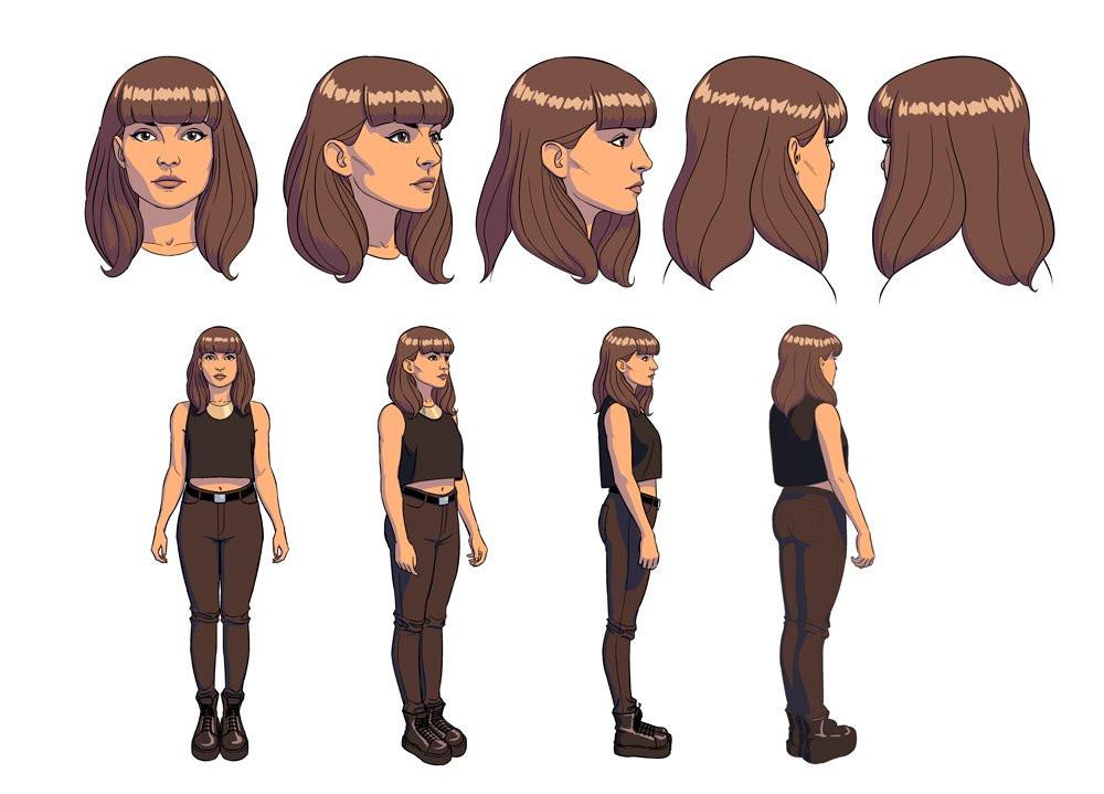 CHVRCHES Lauren Character Model