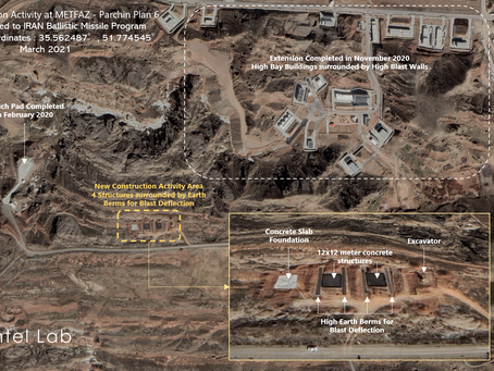 New Construction Activity at Parchin Military Complex, Plan 6