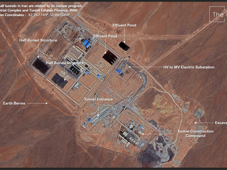 Not all tunnels in Iran are related to its nuclear program.