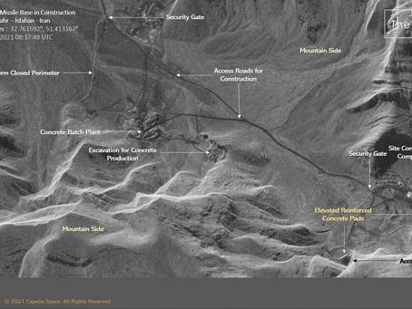 Possible New Ballistic Missile Base near Isfahan, Iran.