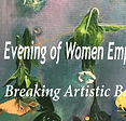 Women Artists breakin barriers LWV Morristown Area art fundraiser 2019