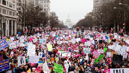 Womens March DC 2017 Photo by Tchompalov