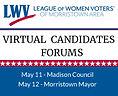 LWV Morristown Area Cand Forum website 2