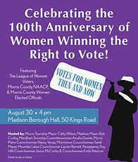 Woman's Suffrage 100th Anniversary Town