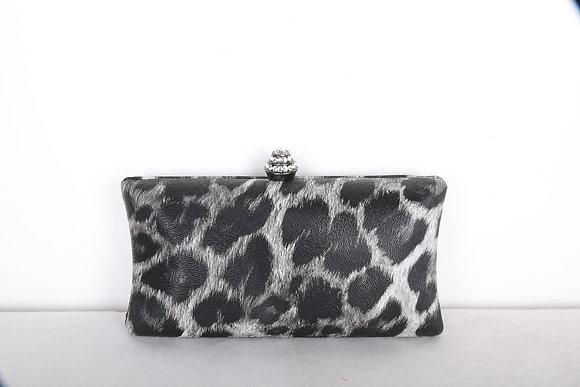 Leopard Skin Print Clutch