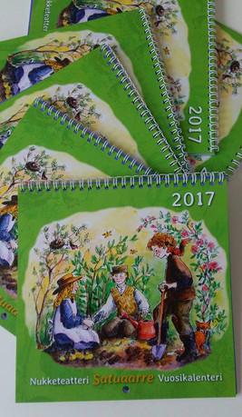 Satuaarteen vuosikalenteri