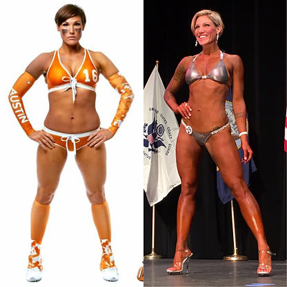 bikini competitor NFF physique