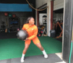 rotational power with medicine ball throws