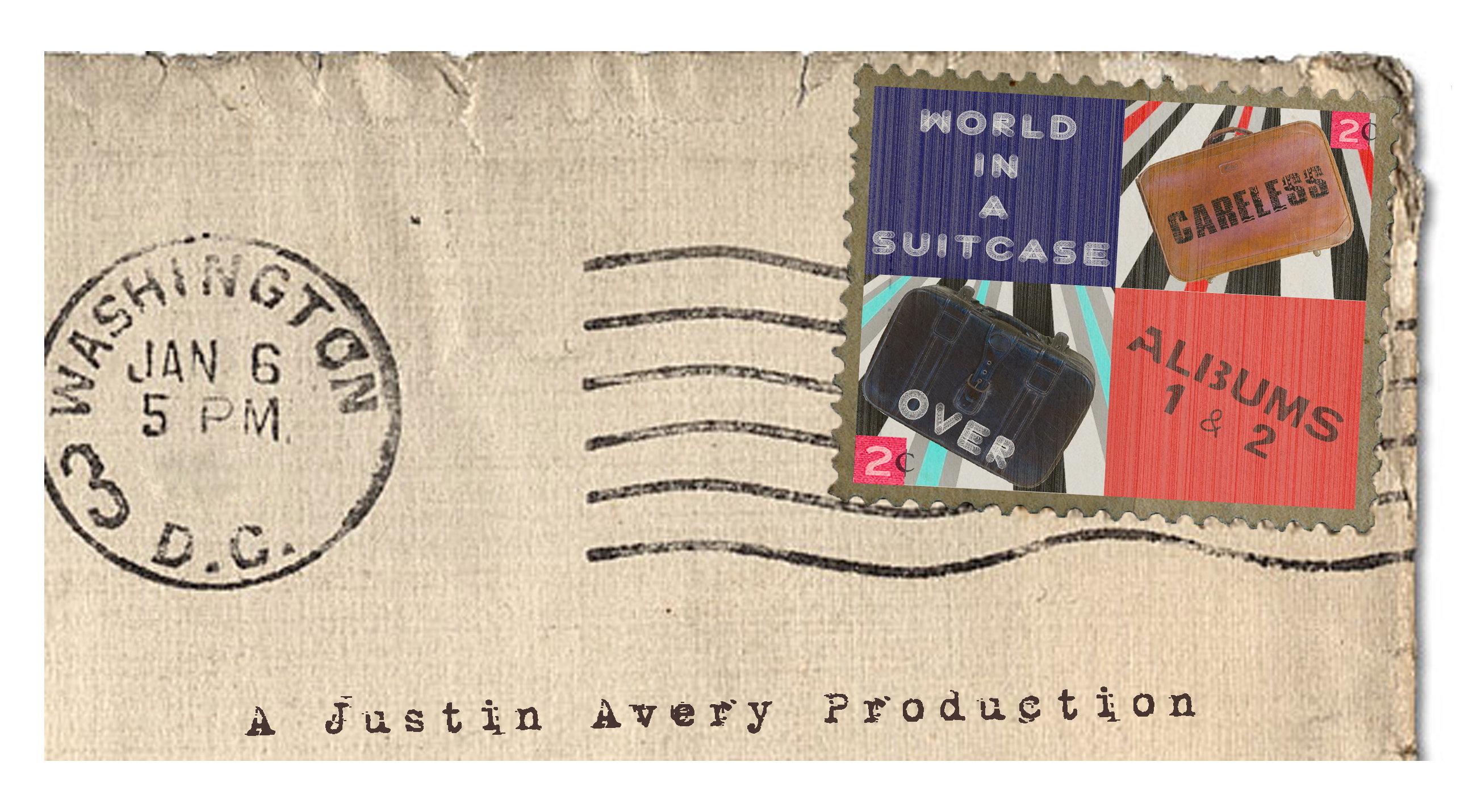 World In A Suitcase Letter
