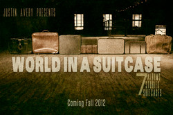 Justin Avery - Over - World In A Suitcase (POSTER 2)