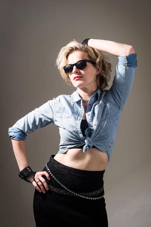 Madona Shoot in Studio