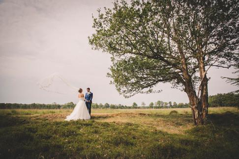Huwelijk in Bakkeveen