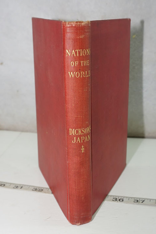 1898 Nation Of The World Book - Japan