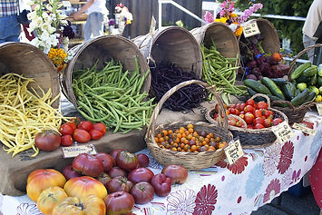 Tomatoes,beans,cucumbers, and beats for