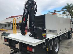 Truck Work Body Crane