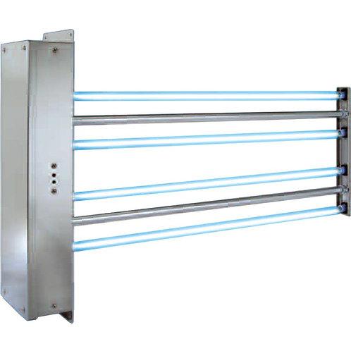חיטוי אוויר תעשייתי עם UV-HVAC עם 4 מנורות
