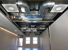 Building interior Air Duct, Air Conditio