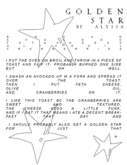 """Excerpt from """"Toast"""""""