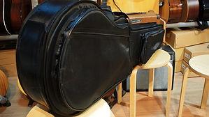 Утепленный высокопрочный жесткий гитарный чехол