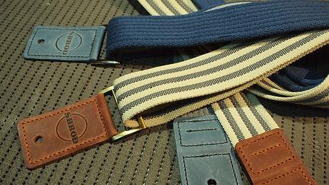 Кожано-текстильный ремень ручной работы