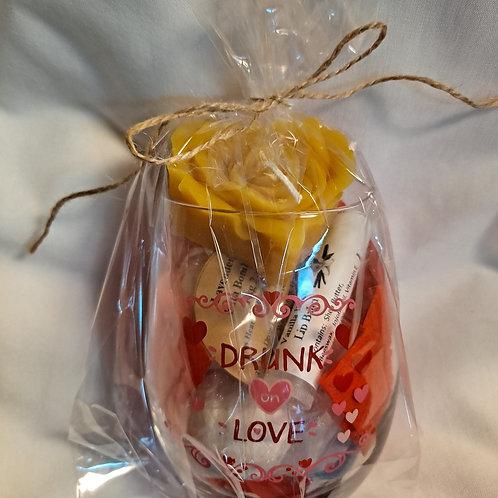 Stemless Wine Glass Spa Set