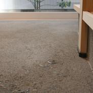 通り土間の床
