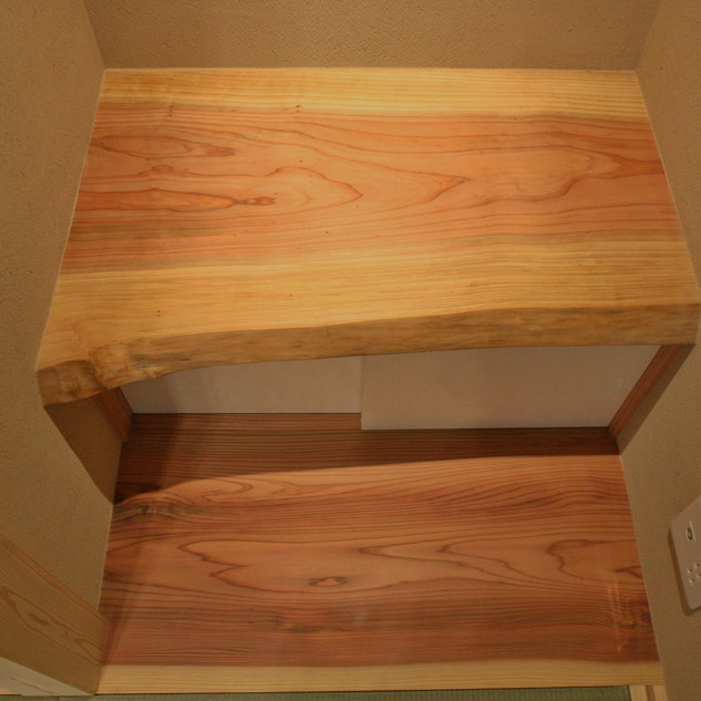 地袋天板と地板