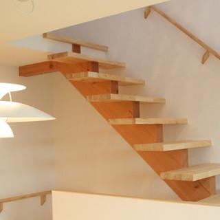 階段もインテリア