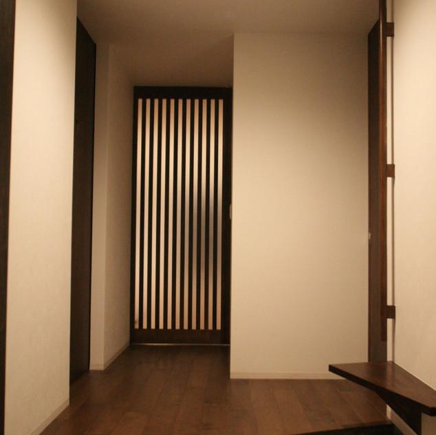 玄関からホール