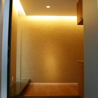 玄関から玄関ホール