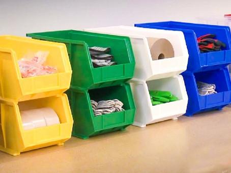 Las gavetas resolverán el orden de tus cosas en casa o en tu trabajo