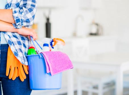 Tips para desinfectar y cuidar las cosas de tu hogar