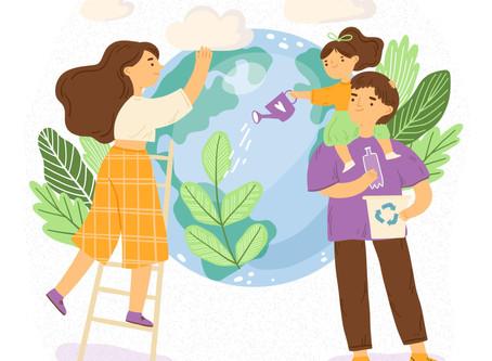 Sigue estos consejos para cuidar el medio ambiente con tu familia