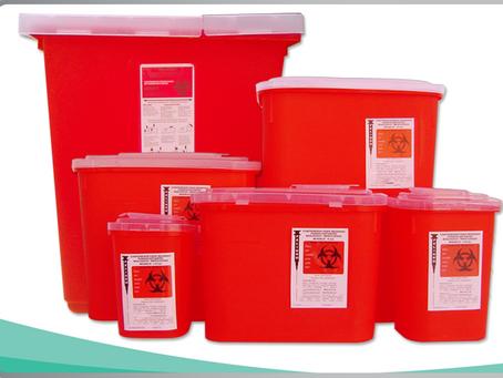 !Importancia de adquirir contenedores de RPBI de material resistente!
